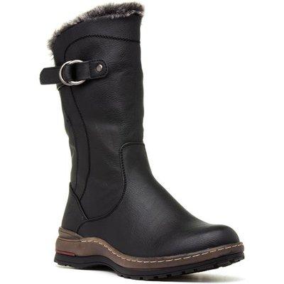 Heavenly Feet Bramble Womens Black Calf Boot