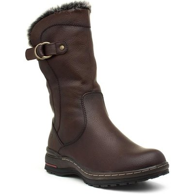 Heavenly Feet Bramble Womens Chocolate Calf Boot
