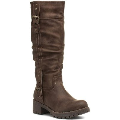 Lilley And Skinner Womens Brown Calf Boot