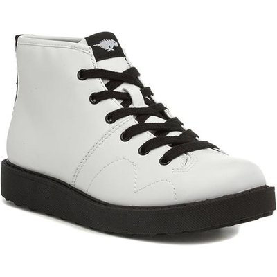 Rocket Dog Jaiden Rancho Womens White Lace Up Boot