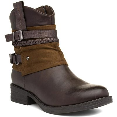 Lilley And Skinner Womens Brown Ankle Boot