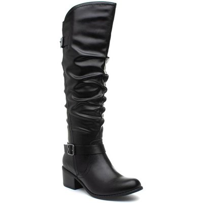 Lilley And Skinner Womens Knee High Boot in Black