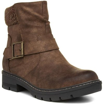 Lilley And Skinner Womens Ankle Boot in Brown
