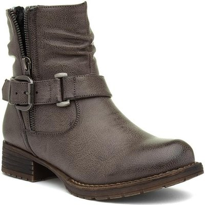 Lilley And Skinner Womens Grey Ankle Boot