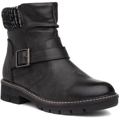 Lilley And Skinner Womens Black Ankle Boot