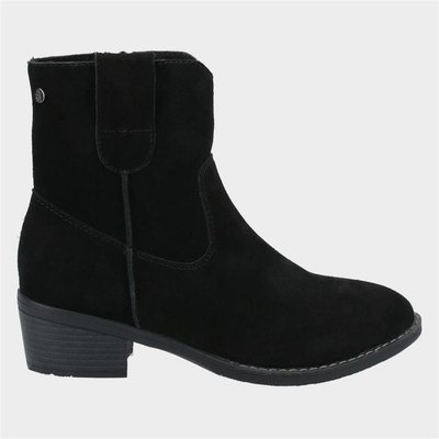Hush Puppies Womens Iva Ankle Boots in Black