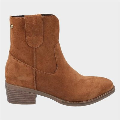 Hush Puppies Womens Iva Ankle Boots in Brown