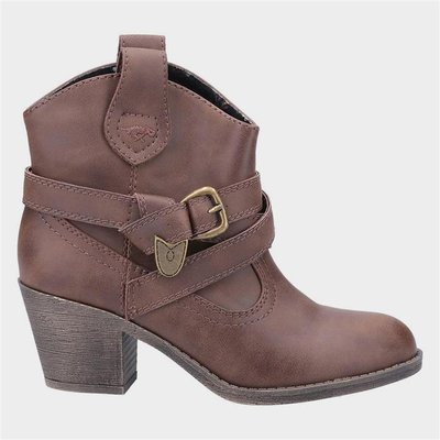 Rocket Dog Womens Satire Ankle Boot in Brown
