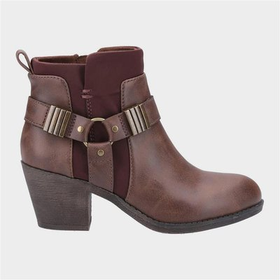 Rocket Dog Womens Setty Ankle Boot in Brown