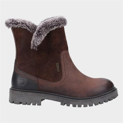 Cotswold Womens Aldestrop Leather Boot in Brown