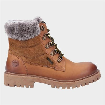Cotswold Womens Spelsbury Leather Boot in Tan