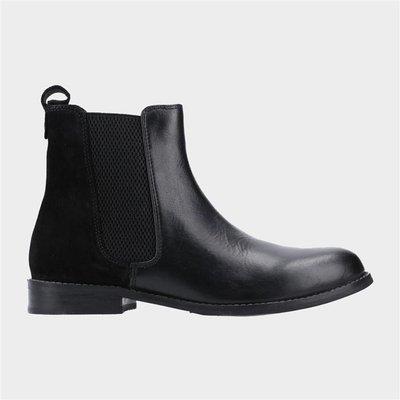Hush Puppies Womens Chloe Boot in Black