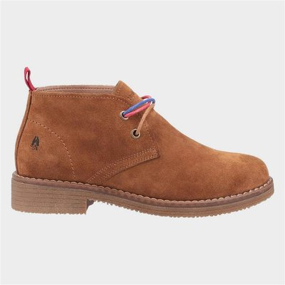 Hush Puppies Marie Womens Ankle Boots in Tan
