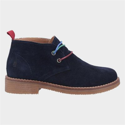 Hush Puppies Marie Womens Ankle Boots in Navy