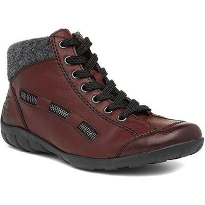 Rieker Womens Wine Ankle Boot