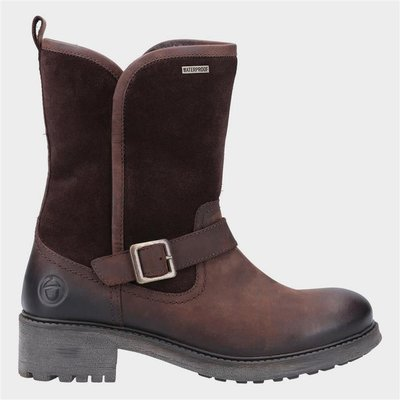 Cotswold Womens Randwick Leather Boot in Brown