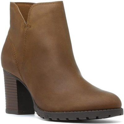 Clarks Verona Trish Womens Brown Ankle Boot