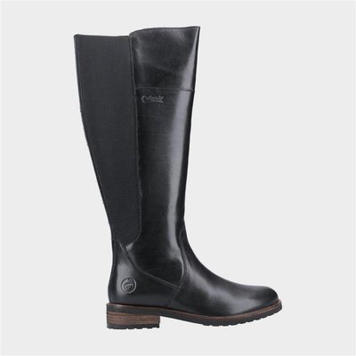 Cotswold Womens Montpellier Black Leather Boot