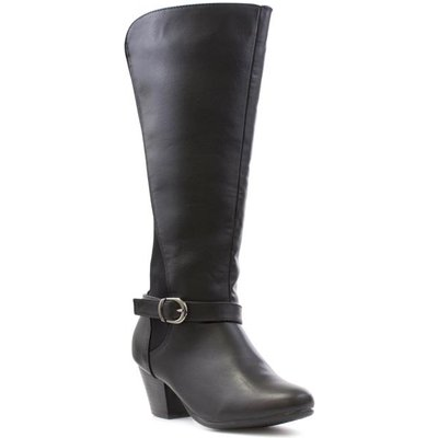 Comfort Plus Alissa Womens Black Wide Fit Boot