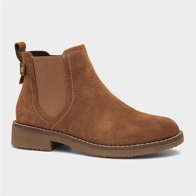 Hush Puppies Maddy Womens Tan Leather Boot