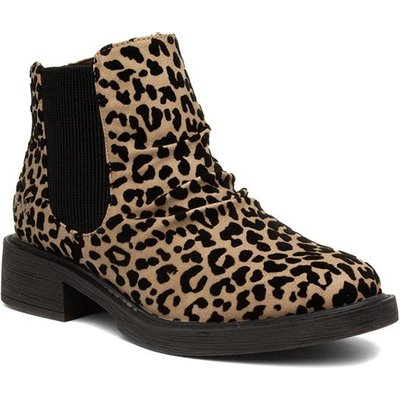 Blowfish Malibu Kandi Womens Leopard Chelsea Boot