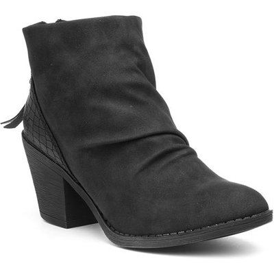 Blowfish Malibu Sadya Womens Black Ankle Boot