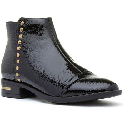 Lotus Abrielle Womens Black Patent Ankle Boot