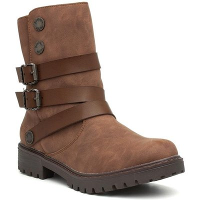 Blowfish Malibu Radiki Womens Brown Ankle Boot