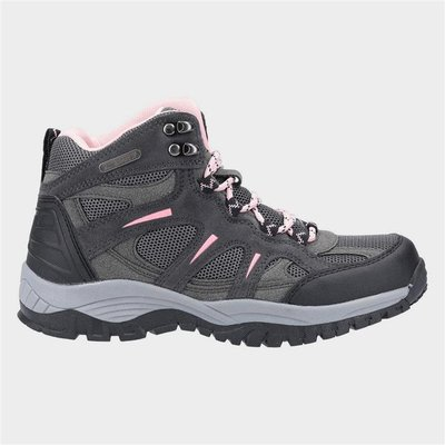Cotswold Womens Stowell Hiking Boot in Grey