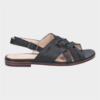 Hush Puppies Womens Riley in Black