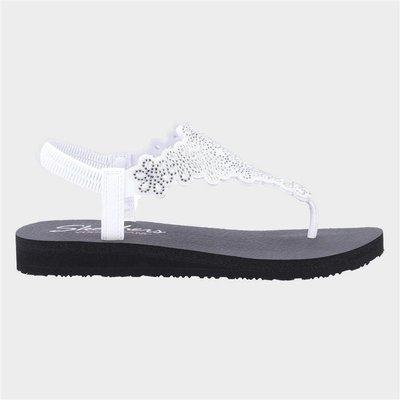 Skechers Womens Meditation Floral Lover in White