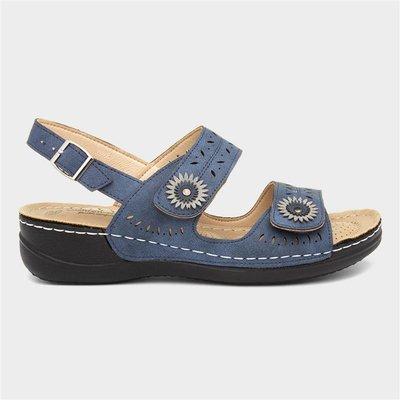 Cushion Walk Meryl Womens Navy Sandal