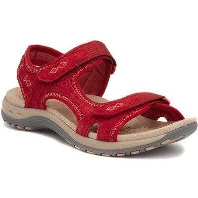 Earth Spirit Frisco Womens Red Sandal