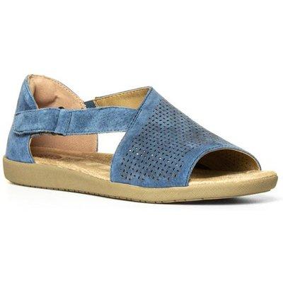Earth Spirit Redvale Womens Blue Leather Sandal