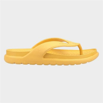Hush Puppies Womens Bouncer Flip Flop in Gold