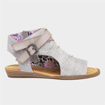 Blowfish Malibu Balla Hipster Womens Grey Sandals