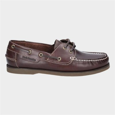 Hush Puppies Henry Classic Lace Up Brown Shoe
