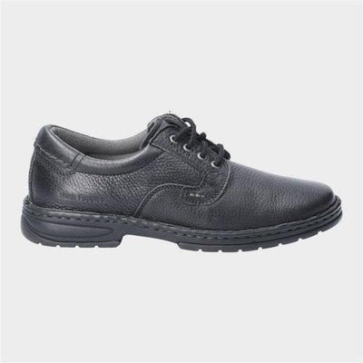 Hush Puppies Outlaw II Lace Up Shoe in Black