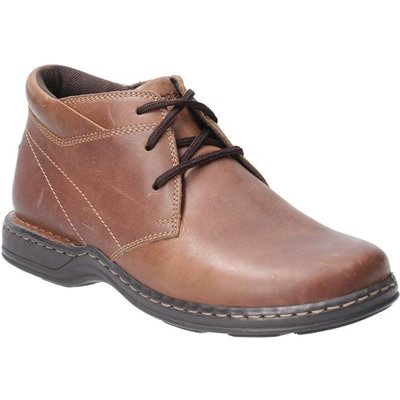 Hush Puppies Reggie Lace Up Shoe in Brown
