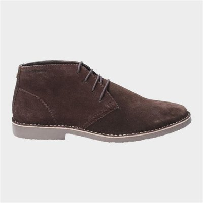 Hush Puppies Freddie Lace Up Desert Boot in Brown