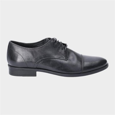 Hush Puppies Ollie Cap Toe Lace Up Shoe in Black