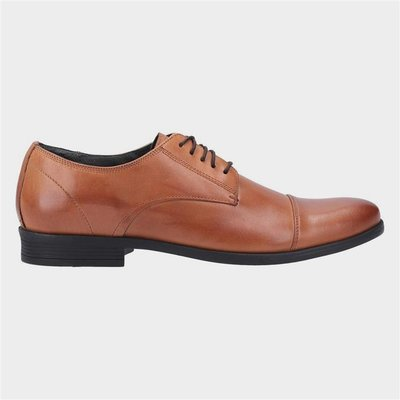 Hush Puppies Ollie Cap Toe Lace Up Shoe in Brown