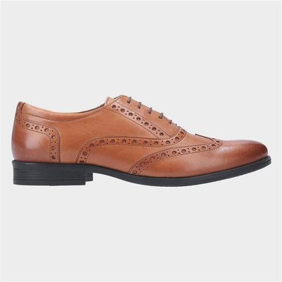 Hush Puppies Oaken Brogue Lace Up Shoe in Brown