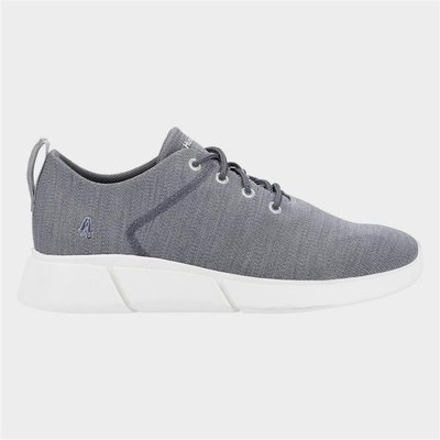 Hush Puppies Cooper Lace Up Shoe in Grey