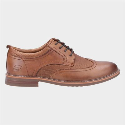 Skechers Bregman Modeso Lace Up in Brown