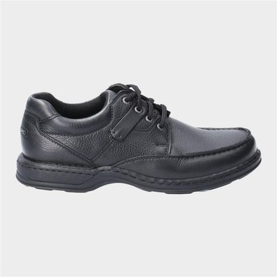 Hush Puppies Mens Randall II Lace Up Shoe in Black