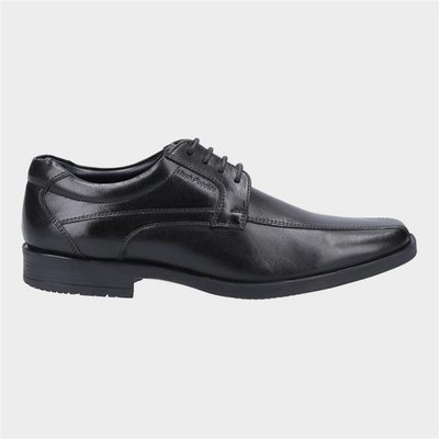 Hush Puppies Mens Brandon Lace Up Shoe in Black