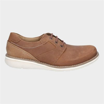 Hush Puppies Mens Chase Casual Lace Up Shoe in Tan
