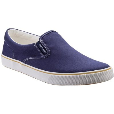 Hush Puppies Mens Chandler Slip On Shoe in Blue