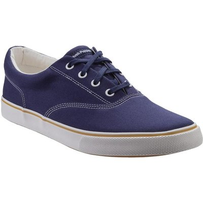 Hush Puppies Mens Chandler Lace Up Trainer in Blue